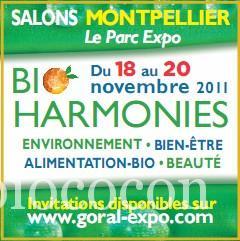 Salon bio montpellier ce week end mon bio cocon for Salon bio montpellier