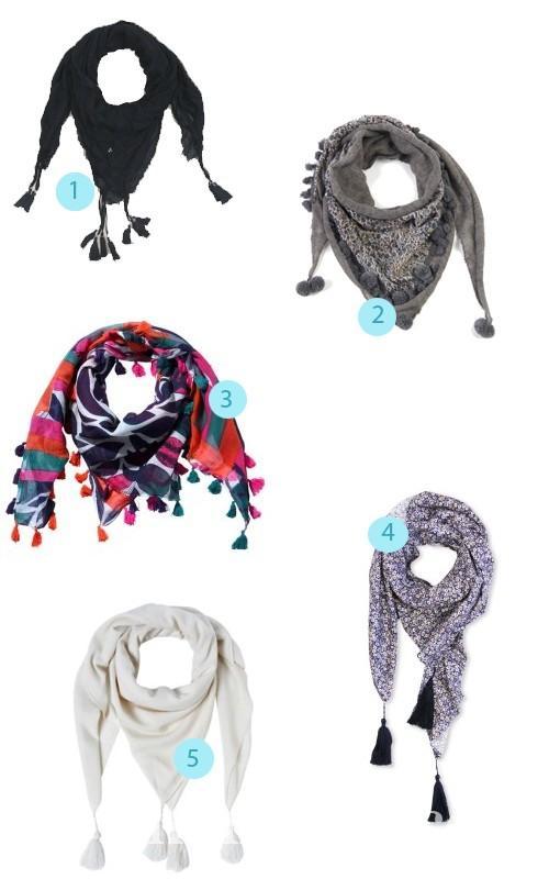 foulards-ponpons