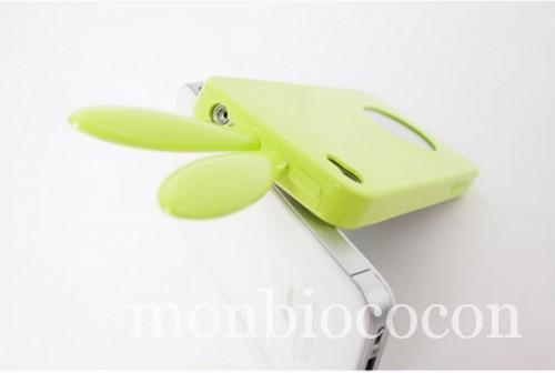 coque-Iphone-4-lapin-vert-1