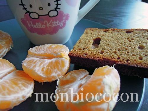 pain d'épices-clémentines-gouter bio