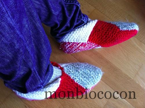 chaussons-laine-tricotés-maison-home-made-DIY-0