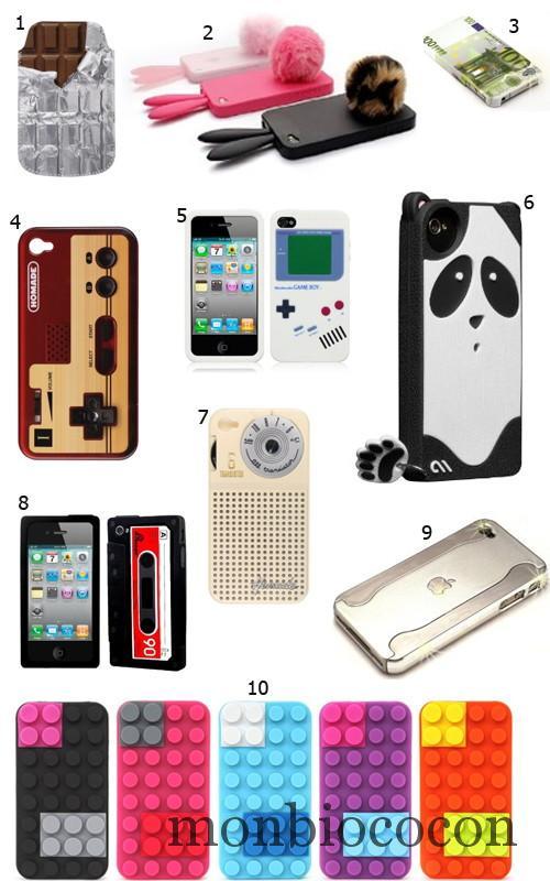 coques-étui-Iphone-4-lapin-moderne-tendance-fun