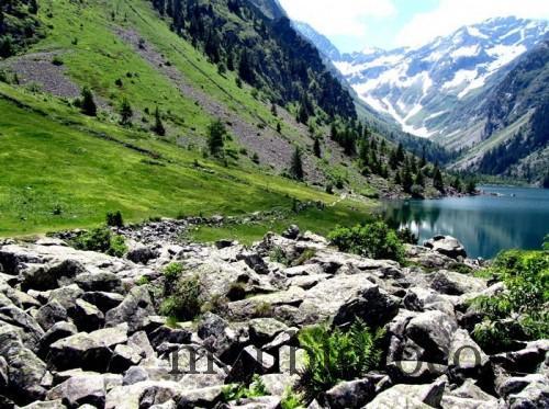 lac du lauvitel alpes