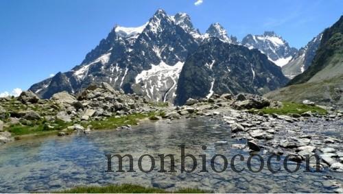 randonnée au glacier blanc, lac tuckett,massif des écrins alpes