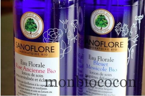 sanoflore eau de rose bio