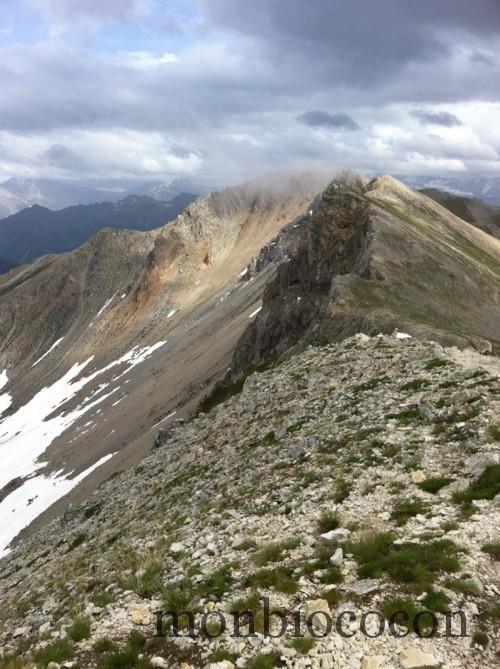 crête-peyrolles-col-granon-alpes-randonnée