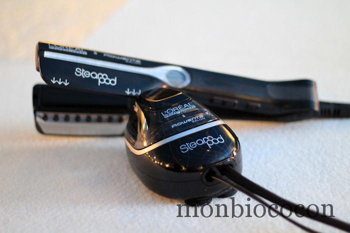 steam-pod-l'oréal-professionnel-lisseur-cheveux-vapeur