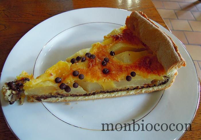 tarte-poire-chocolat-chez-germaine-aubrac