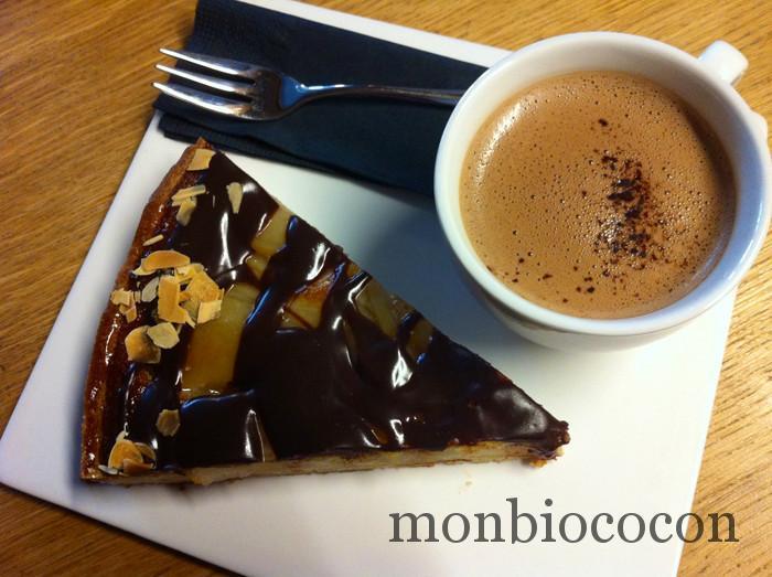 tarte-poire-chocolat-salon-de-thé-chamonix