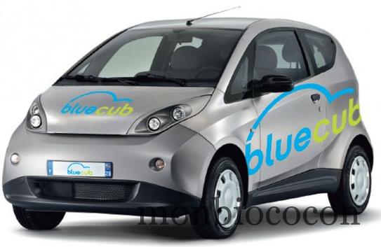 la voiture lectrique bluecub arrive bordeaux mon bio cocon. Black Bedroom Furniture Sets. Home Design Ideas