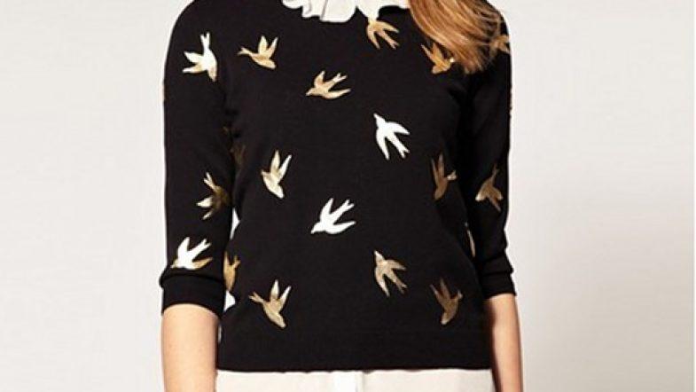 Des oiseaux sur mes vêtements pour prendre un peu de hauteur