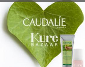 A GAGNER sur le Blog : 1 lot CAUDALIE + Kure, spécial main, pour la Saint Valentin