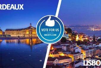 La destination favorite pour 2015 : Bordeaux ou Lisbonne ?