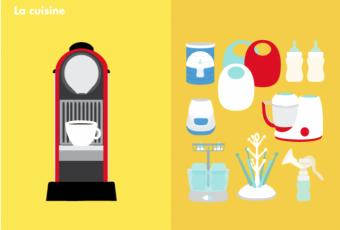 Avant/après bébé : des dessins qui illustrent bien la réalité