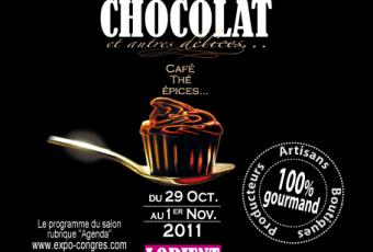 Mmmmmh du chocolat ! au Salon du Chocolat à Lorient ce weekend