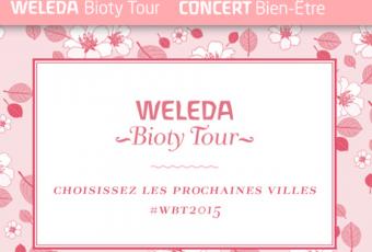 WELEDA Bioty Tour : soirées entre filles spécial cocooning