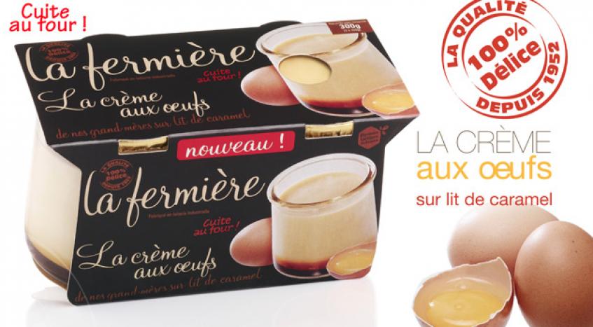 La Fermière, yaourts gourmands naturels & desserts de mon enfance