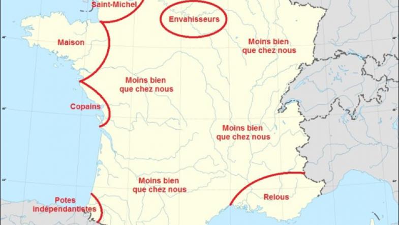 LOL : Les régions de France vues par les Parisiens, les Toulousains & cie