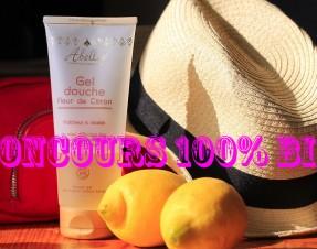 A GAGNER sur le blog : 2 lots Abellie (shampooing + gel douche) #concours #bio
