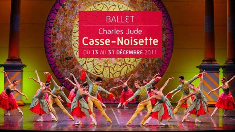J'ai été assister au ballet Casse Noisette au Grand Théâtre à Bordeaux