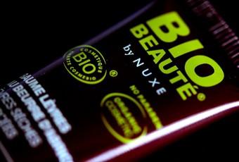 Bio Beauté by Nuxe: Baume lèvres au beurre d'abricot: test et avis de cosmétique bio