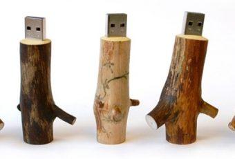 I love les petits bouts de bois et la branche USB