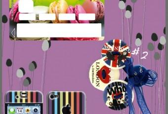 JEU CONCOURS sur le Blog: 3 lots à gagner. Girly, macaron et London à fond !