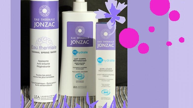 A GAGNER sur le Blog : 3 produits Eau Thermale JONZAC Bio + test