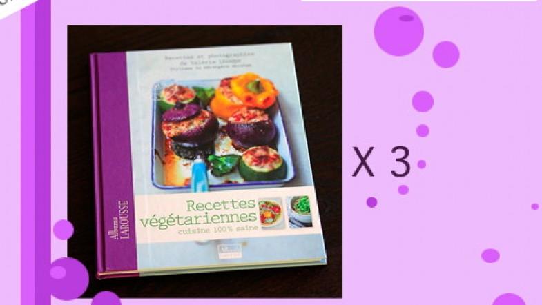 Jeu concours sur le blog 3 livres recettes v g tariennes for Jeu concours cuisine
