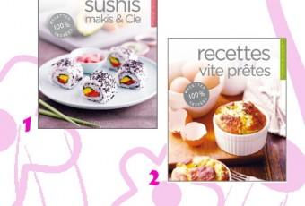 A GAGNER sur le Blog : 2 livres de recettes by Larousse, tout nouveaux