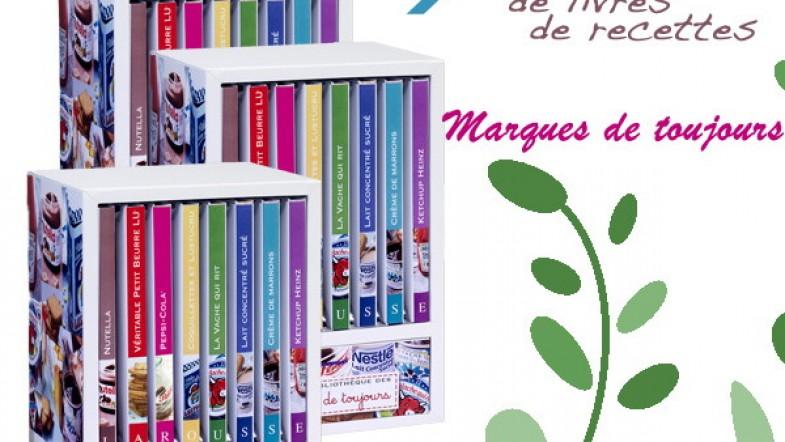 A GAGNER : 3 coffrets de livres de recettes Larousse «Marques de Toujours»