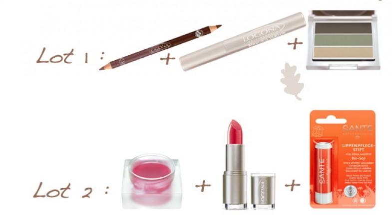 A GAGNER sur le blog : du maquillage Bio LOGONA & SANTE NATURKOSMETIK… Concours 1 an !