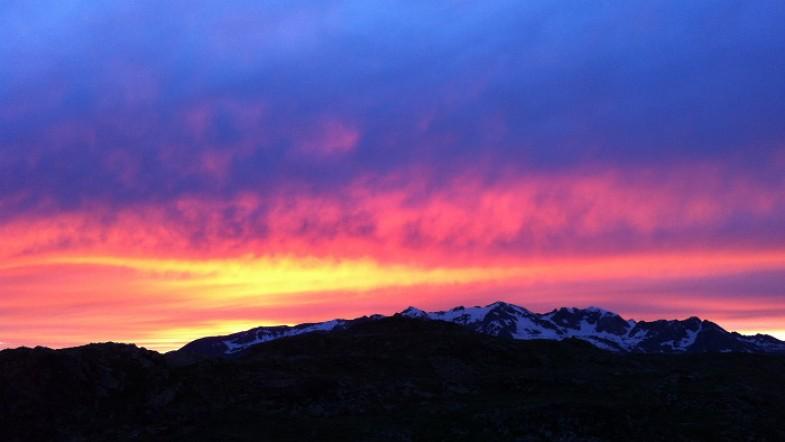 #6 Alpes: Lever et coucher de soleil sur le plateau d'Emparis