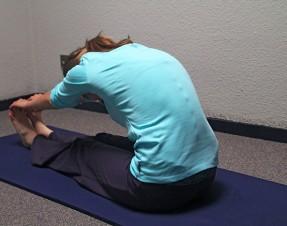 Qu'est ce qu'on met sur le dos pour faire du Pilates au fait ?