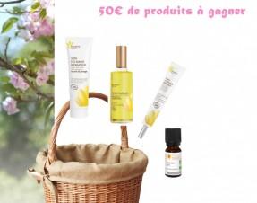 A GAGNER sur le blog : 50€ de produits bio Fleurance Nature