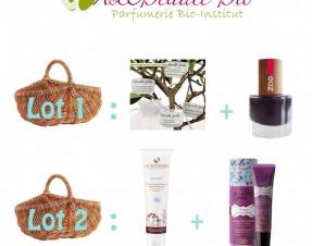 A GAGNER sur le blog : 3 lots de cosmétiques BIO