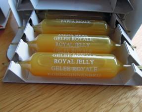 1 ampoule par jour pour renforcer mes défenses immunitaires: gelée royale et cie