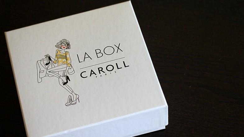 Dans la Caroll Box, il y a …