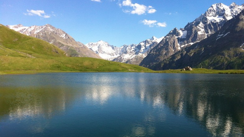 #3 Les Alpes: randonnée au Lac du Pontet, face à la Meije