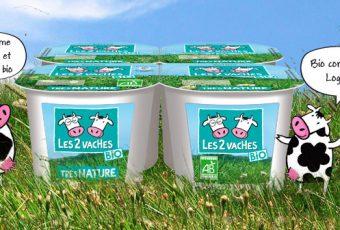 Les 2 vaches BIO: yaourts et crèmes desserts biologiques certifiés AB