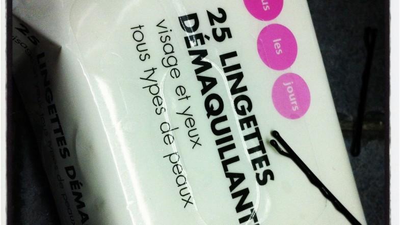 Lingettes démaquillantes à 0,77€ VS celles au concombre 3X plus chères