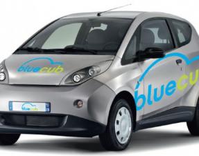 La voiture électrique Bluecub arrive à Bordeaux
