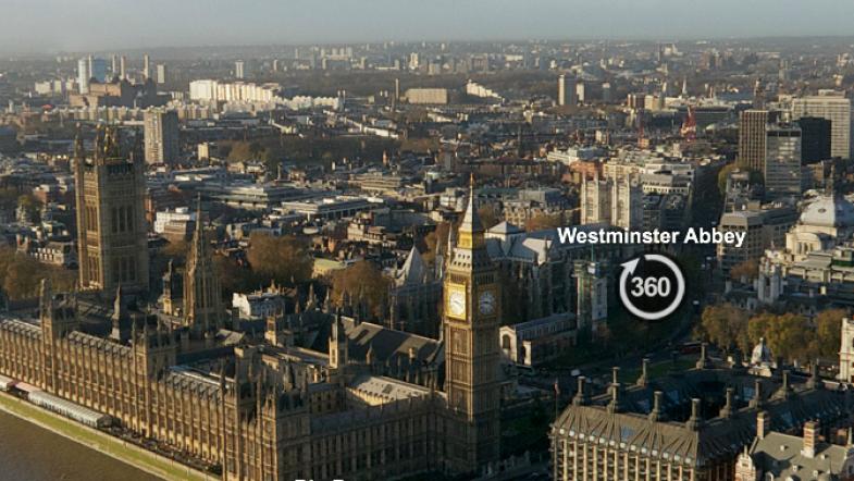 Comme un aperçu de Londres