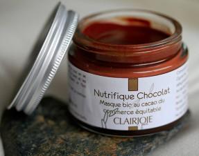Clairjoie: Nutrifique chocolat masque bio au cacao du commerce équitable: test et avis
