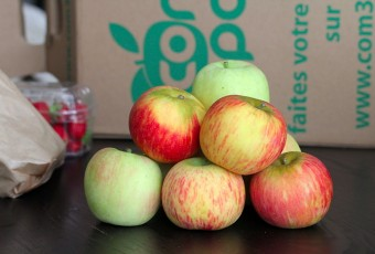 Com 3 Pom : panier de fruits saisonnier chez moi