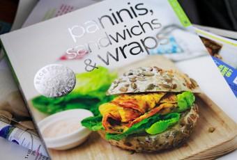 Love des paninis, j'ai enfin trouvé un livre pour en faire ! Hiii !