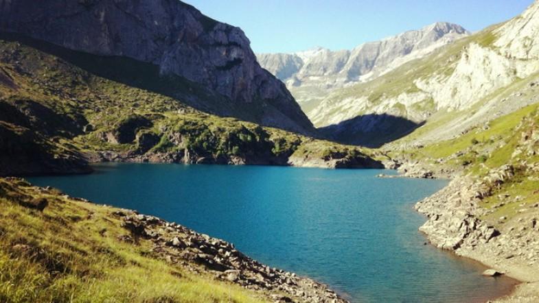 Randonnée au Cirque d'Estaubé, puis aux lacs d'Ardiden, dans les Pyrénées