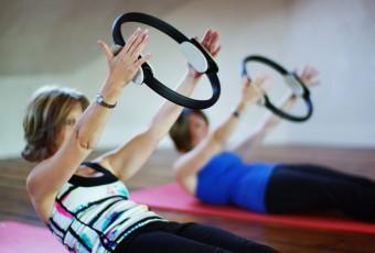 Pilates ou mon 1er cours d'essai. Objectif: avoir des abdos et un dos en béton, rien que ça