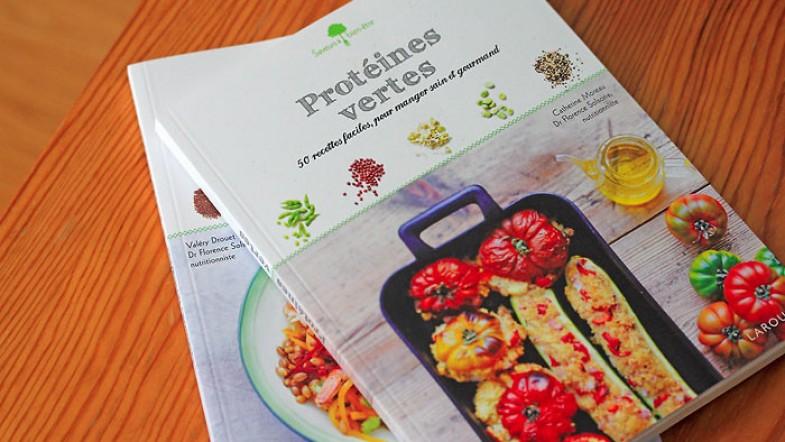Protéines vertes & céréales, pour manger sain & gourmand