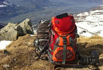 Randonnée en raquettes près de Hautacam dans les Pyrénées et photos pourries d'Iphone